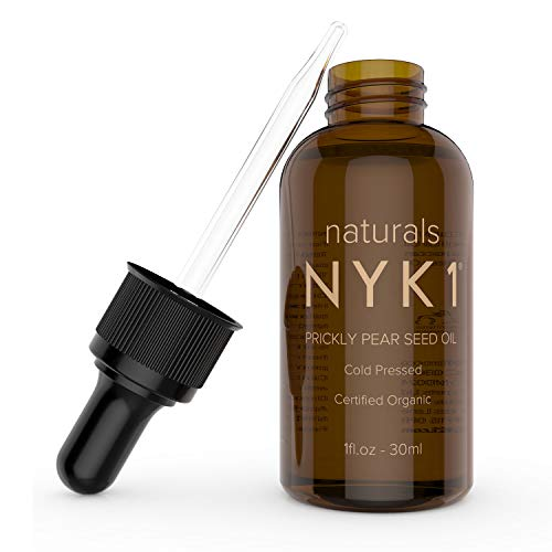 NK1 100% PURE PRICKLY PEAR SEED OIL. 100% Natural Moroccan Certified, Organic Cold Pressed Dry Facial Oil.