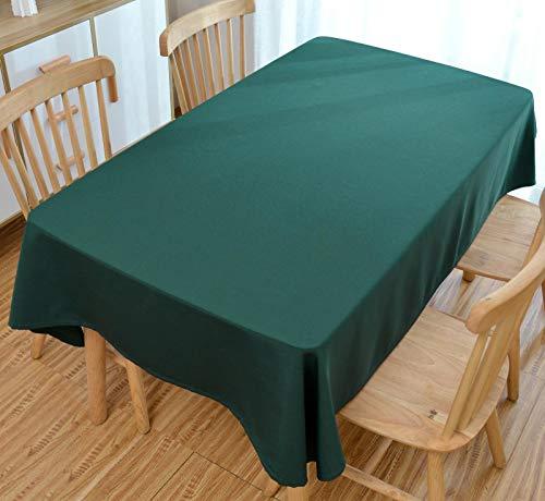 TWYYDP Mantel Color Liso Rectángulo Impermeable Mantel