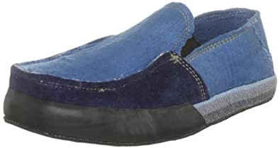 Solerebels Men's Xodus Iration Slippers Blue 8 UK