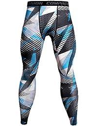 ITISME Homme Pantalons de Compression pour Hommes Collants de Sport Leggings  Collants de Sport Legging de 55d0b4fbaaf