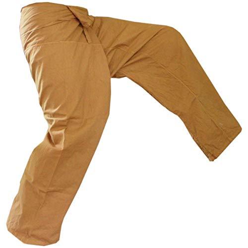 man Pants, golden, L ()