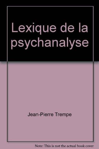 Lexique de la psychanalyse
