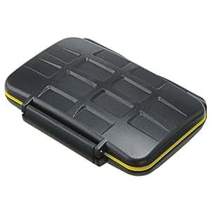 JJC boîtier pour carte mémoire (résistant à l'eau) pour - 8 x SD, SDHC, SDXC