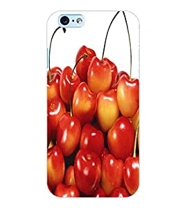 ColourCraft Fruit Cherry Back Case Cover for APPLE IPHONE 6S