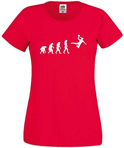 Handball Damen Evolution T-Shirt WM Shirt EM Trikotrot-XXL