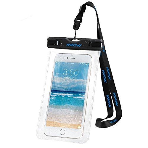 Mpow Funda Impermeable de iPhone 7 7s 6s 6 5s Huawei P8 Lite Bq aquari
