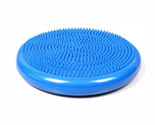 ZDNALS Yoga-Ball, Kissen Balance-Platte Haushalt Kissen Verdicken Explosionsgeschützte Balance-Pad Trainingsball Yoga-Ball (Color : #1)