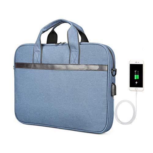 Targus Damen Tragetasche (11 '' 12 '' 13 '' 14 '' 15 '' Laptop Sleeve Tasche wasserdicht Notebook Tablet Taschen Fall Messenger Schulter Blue 14 Inches)