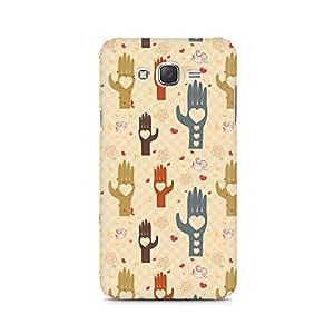 TAZindia Heart in Hand Premium Printed Case For Samsung Galaxy J5 2016 Version