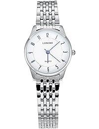 Ivory Mujer Reloj Online compra Mujeres gesch?FTS de cuarzo de aleación Hardlex nuevo con