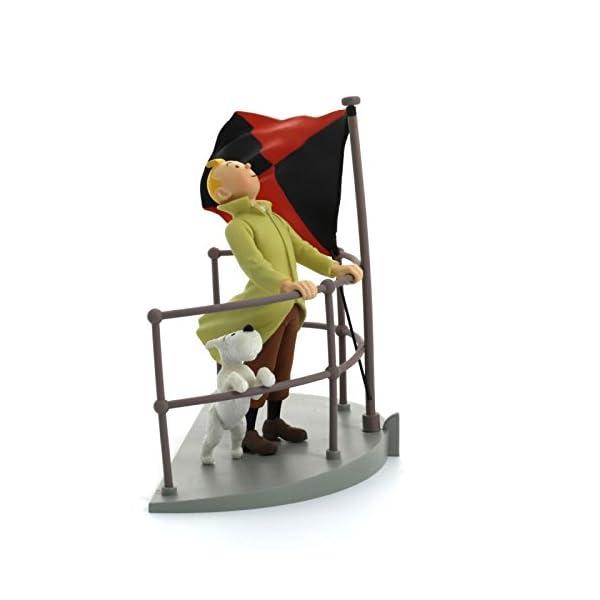Moulinsart Figura / Cofre de colección Tintín a Bordo del Aurora 43110 (2011) 1