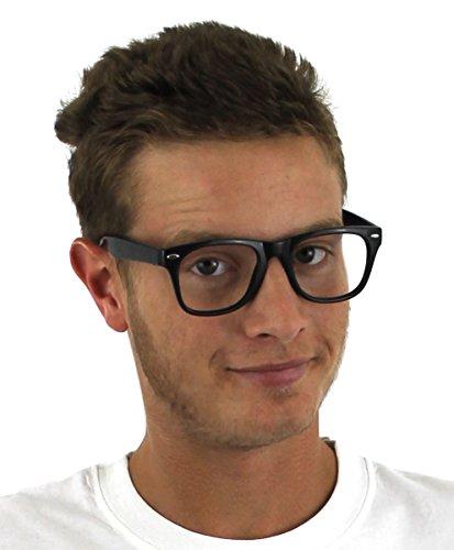 ILOVEFANCYDRESS 200 Schwarze Plastik Brillen GESTELLEN OHNE GLÄSSER=GROßHANDEL=GESCHÄFTE=VEREINE=Gruppen=DAS PERFEKTE ZUBEHÖR FÜR Jede Art DER VERKLEIDUNG=DER Absolute Schlager