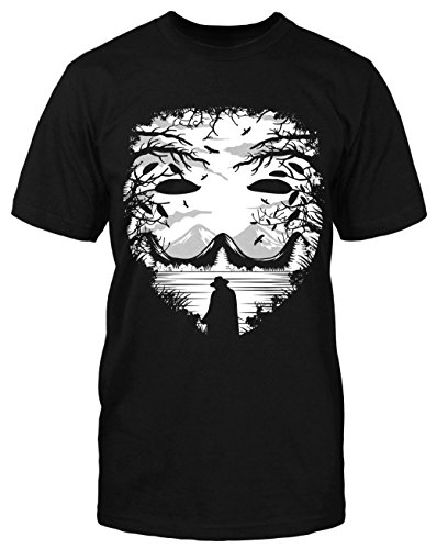 Vendetta Lake T-Shirt Ultra Hooligan Revolution Fight System remember neu Demo Schwarz