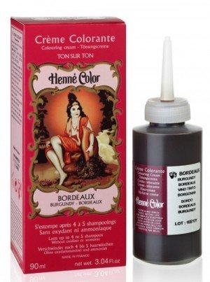 SITARAMA Hennè Color Crème Colorante au Henné - BORDEAUX- Yumi Bio Shop
