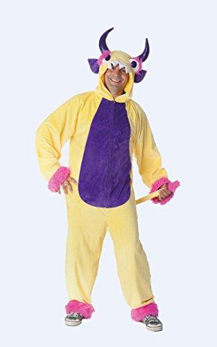 Herren Kostüm Crazy Monster zu Karneval Fasching Gr.54-60 in - Herren Monster Kostüm