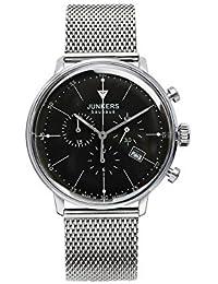 Junkers Herren-Armbanduhr Chronograph Quarz Edelstahl 6088M2