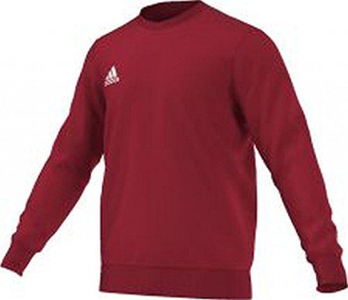 Adidas, Felpa Uomo Core 15, Rosso (Power Red/White), XS