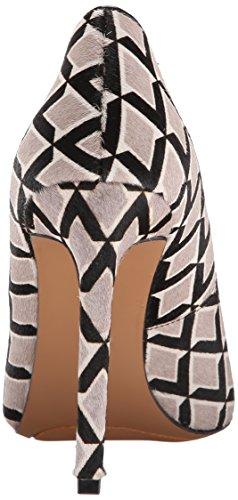 Nine West Tatiana pompa Dress sintetico Grey Multi/Black Pony