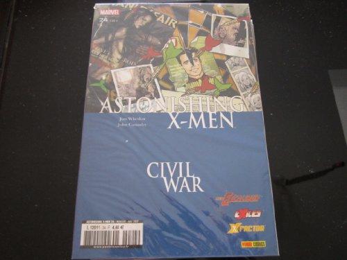 ASTONISHING X-MEN N° 24 (2007) comics vf