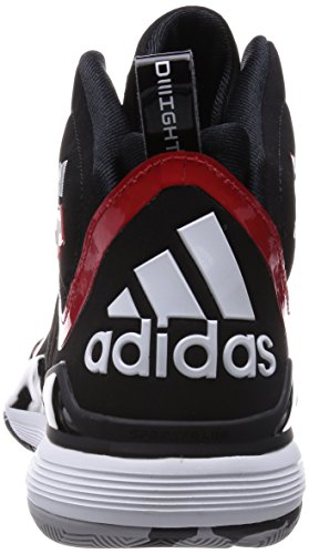 adidas D Howard 5 Herren-Basketball Turnschuhe / Schuhe Black