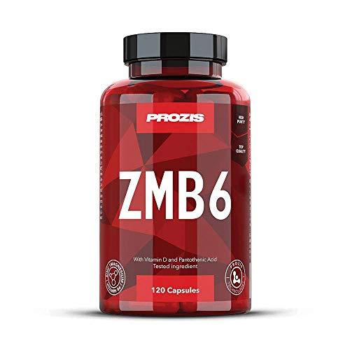 Prozis zmb6 zinco + magnesio + b6, 120 capsule