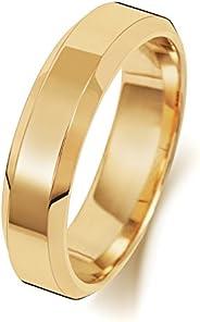 Anello Fede Nuziale Uomo/Donna 5mm in Oro giallo 18k (750) WJS1891818KY
