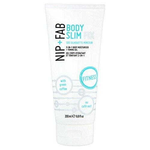 Nip + Fab Body Fix Slim (200 ml) - Paquet de 6
