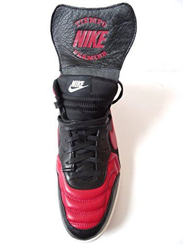 Nike Tiempo 94Mid QS Scarpe da ginnastica scarpe da ginnastica 641147 black varsity red ivory 061 CHICAGO BULLS