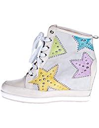 ROBERTO BOTELLA - <p>Sneakers cuña recubierta</p> - Color Blanco - Talla 41