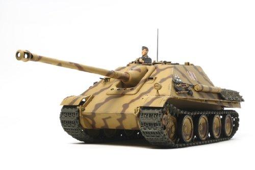 Tamiya 300030607 - WWII Deutscher Jagdpanzer Jagdpanther, Bausatz 1:25