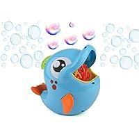 Gadgy ® Machine a Bulles Dauphin Plein Air | Souffleur Bubble Maker | Avec 236 ml. Bulles de Savon | Bleu Poisson