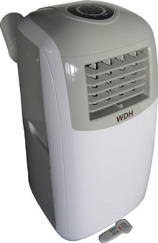 Aktobis Klimagerät WDH-TCB1263 - Kühlen, Entfeuchten und Ventilation [Energieklasse A] (11.500 BTU + Turbokühlung)