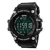 yanana SKMEI M?nner Smart Watch Pedometer Kalorien Bluetooth Boy Outdoor Sports Uhren Wasserdichte Digital-Armbanduhren Timer