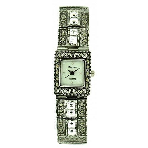 softech-marcassite-montre-mtal-antique-finition-blanche-claire-cristaux-quartz-analogique-avec-une-b