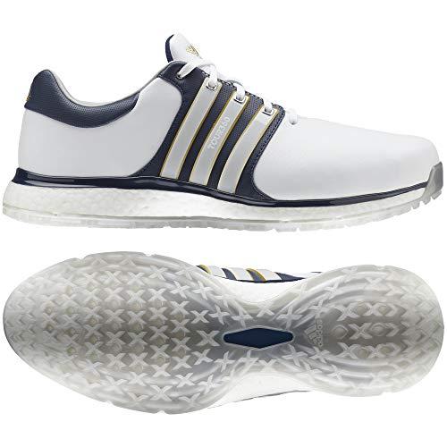 adidas Herren Tour360 Xt-sl(Wide) Golfschuhe, Weiß (Blanco/Navy F34991), 42 2/3 EU