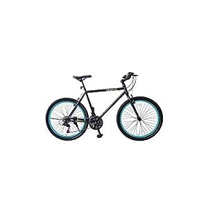 City Bike Fahrrad Damen und Herren mit Rahmen aus Aluminium und Felgen 26...