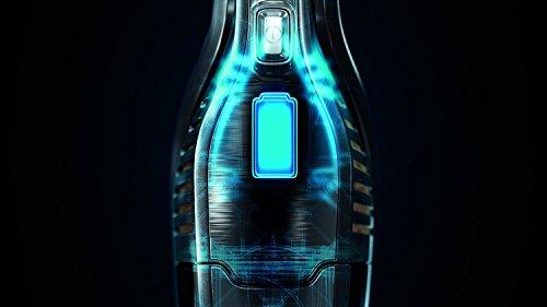 AEG ECO Li 35 Ergorapido CX7-35FFP 2in1 Akku-Handstaubsauger (beutellos, 18 V Lithium-Power-Akku, patentierte Selbstreinigung der Bürstenrolle, Elektrobürste, 4 LED-Frontlichter) grau metallic