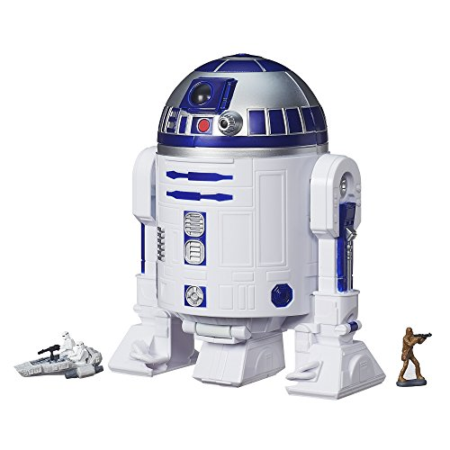 Hasbro – B3512 – Micro Machines – Star Wars : The Force Awakens – R2-D2 – Coffret