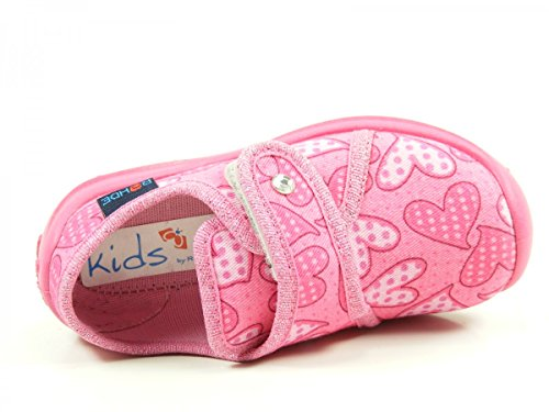 Rohde Boogy, Chaussons avec doublure froide fille pink
