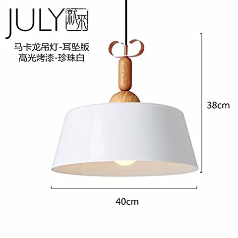 Xzyuyu The Post-Modern Minimalist Nordic Retro Industrial Pearl White Chandeliers Living Room Bedroom Restaurant Lounge Creative Logs Design Aluminum Cafe Art Lighting