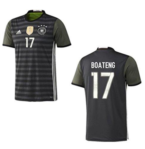 Trikot Adidas DFB 2016-2018 Away (Boateng 17, 176)