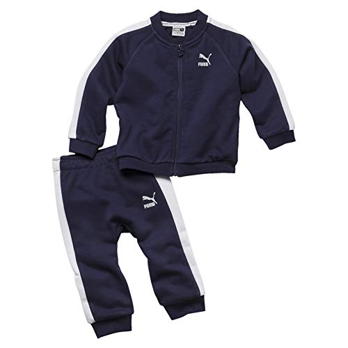 PUMA Minicats T7 Full Zip Babies Jogginganzug-Set Peacoat 80