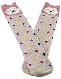 1 Pair Cute & Stylish Cartoon Animal High Knee Boot Socks/Tights for Girls/Kids