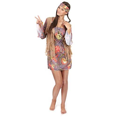 Hippie-Kostüm Frau Hippie Verkleidung One (Hippie Kostüme Frau)