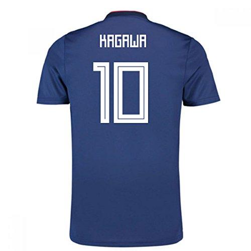 2018-19 Japan Home Football Soccer T-Shirt Trikot (Shinji Kagawa 10) - Kids