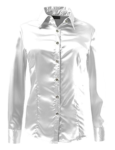 le3no-womens-long-sleeve-satin-blouse-with-cuffs