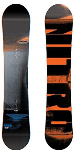 Nitro Herren Prime Wide Snowboard, Schwarz, 156