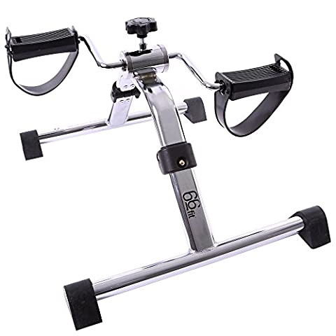 66fit Folding Arm and Leg Pedal Exerciser - Home Physiotherapy