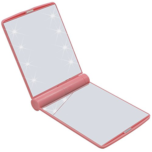 travel-makeup-mirror-bukm-led-lighted-makeup-mirror-ultra-thin-8-bright-led-lights-adjustable-bright