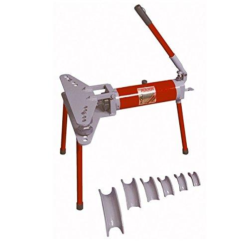 Holzmann - Cintreuse horizontale manuelle hydraulique 10 T + 6 formes - RBM 10 HOLZMANN